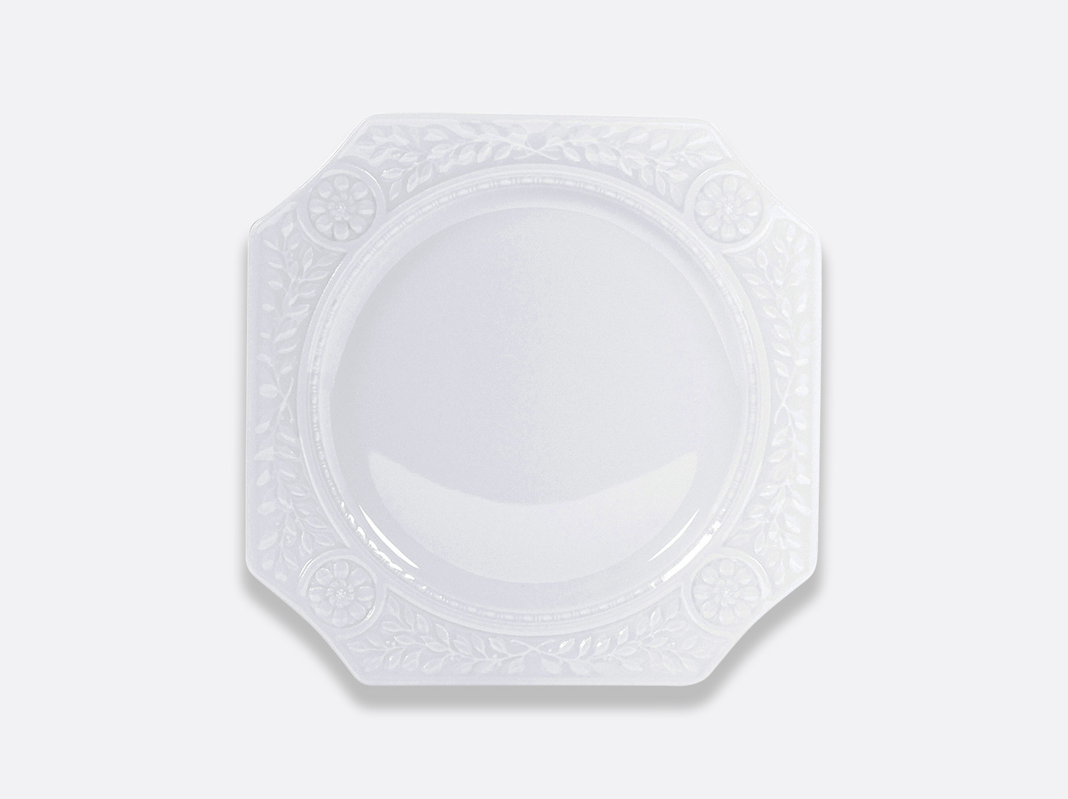 "China Square plate 9"" of the collection Louvre 