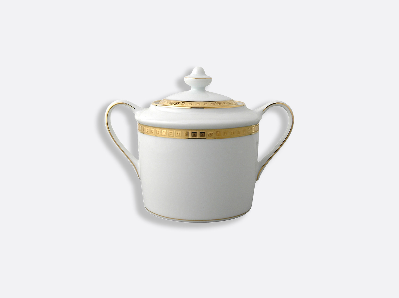Sucrier 6 tasses 20 cl en porcelaine de la collection Athéna or Bernardaud