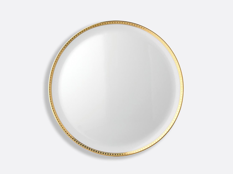 China Tart platter - round 32 cm of the collection Athéna gold | Bernardaud
