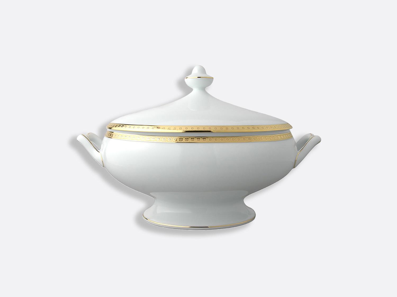 China Soup tureen 2 l of the collection Athéna gold   Bernardaud