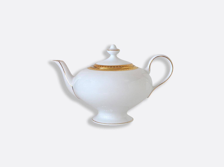 Théière 12 tasses 75 cl en porcelaine de la collection Athéna or Bernardaud