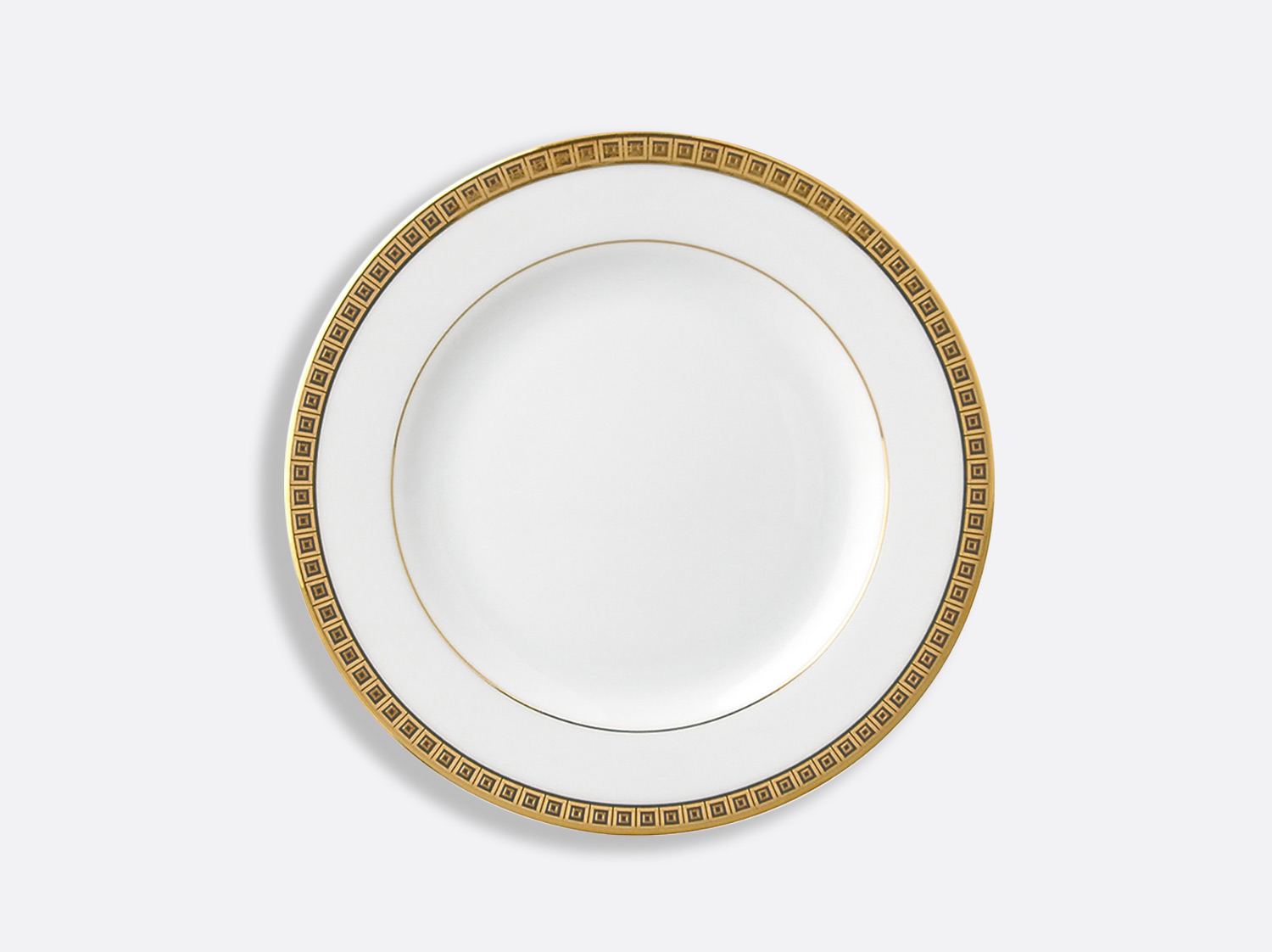 China Bread and butter plate 16 cm of the collection Athéna gold | Bernardaud