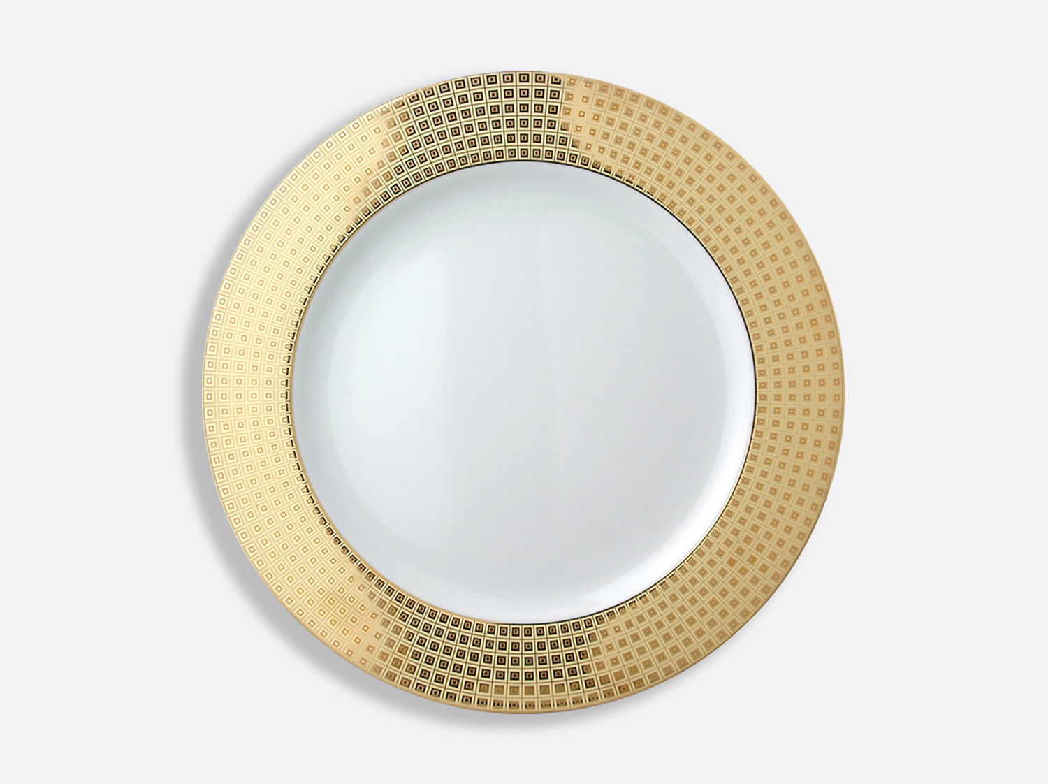 "China Service plate 11.4 "" of the collection Athéna gold 