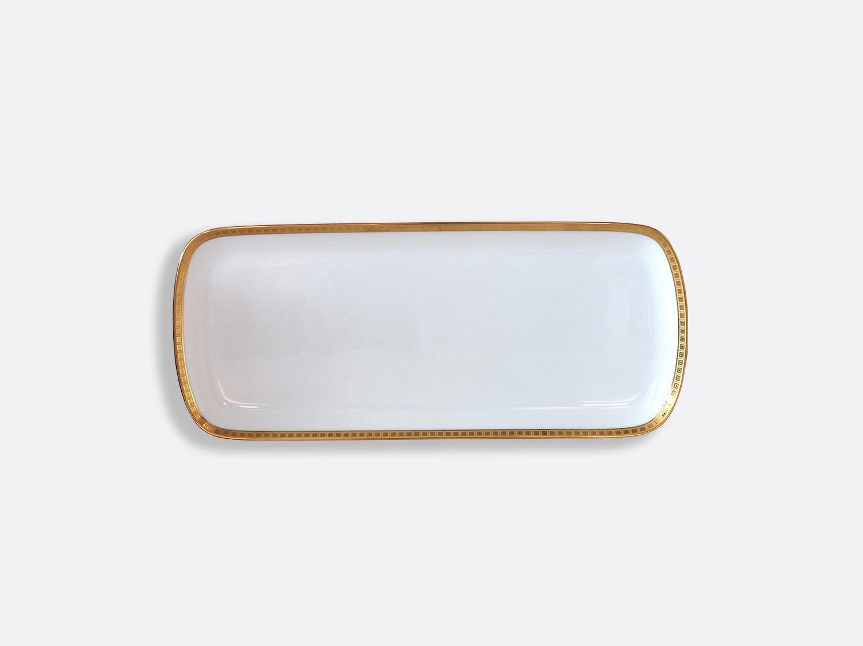 China Cake platter rectangular 37 cm of the collection Athéna gold | Bernardaud