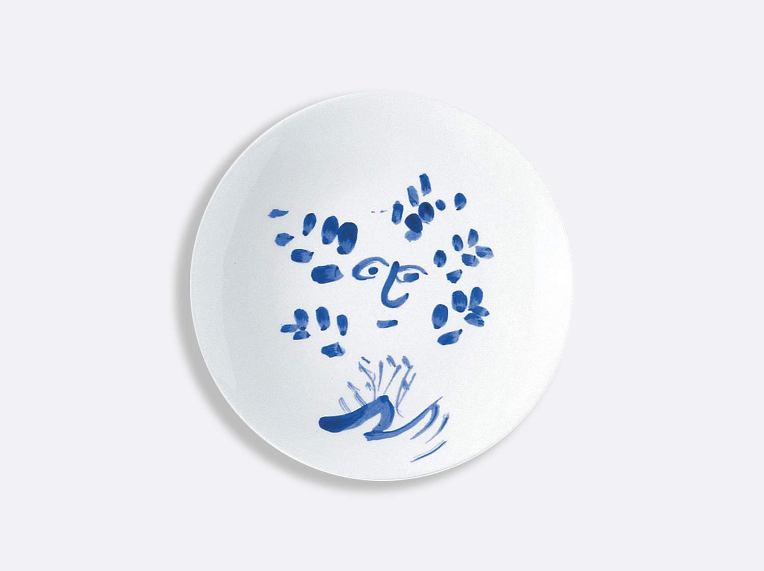 Assiette à pain regard 16 cm en porcelaine de la collection Pour ida Bernardaud
