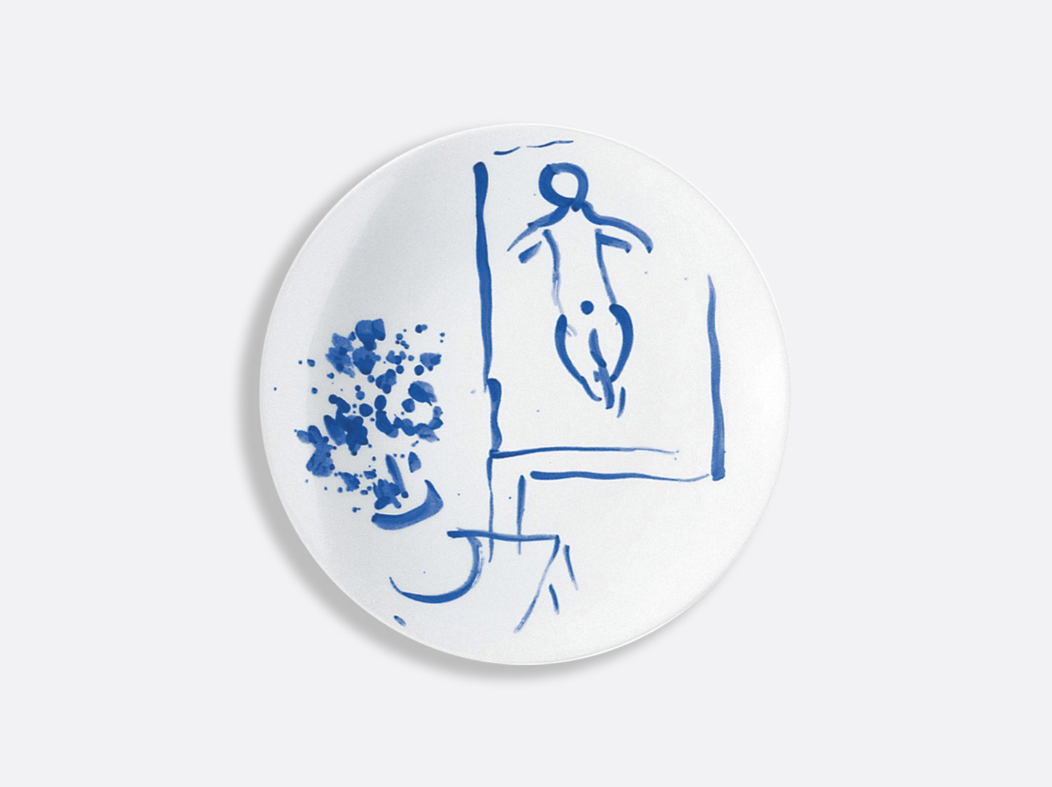 China Bread and butter plate le tableau 16 cm of the collection Pour ida | Bernardaud
