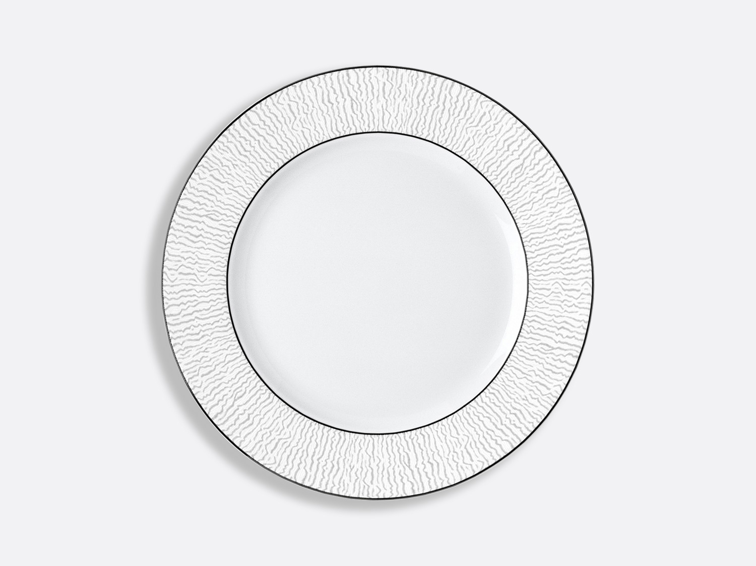 Assiette à dîner 26 cm en porcelaine de la collection Dune Bernardaud
