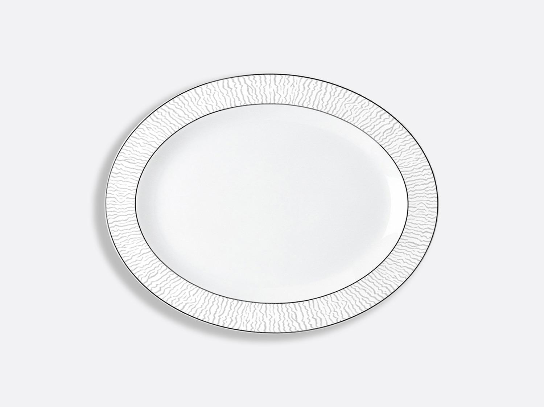China Oval platter 38 cm of the collection Dune | Bernardaud