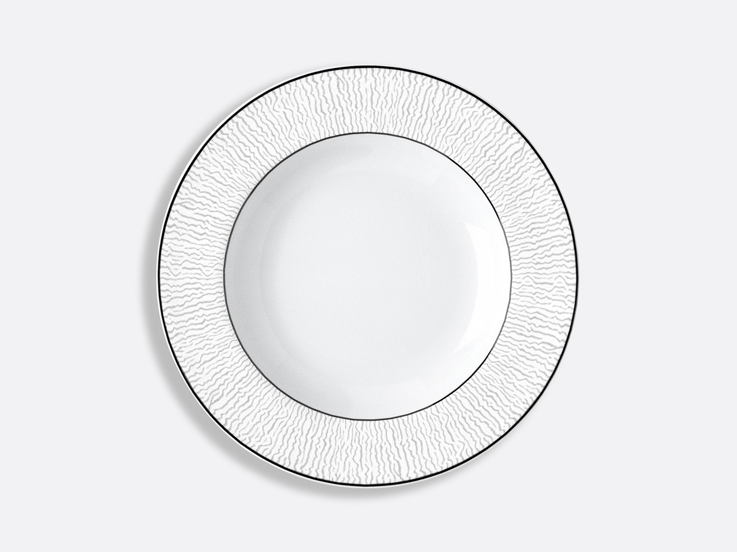 China Rim soup 22,5 cm of the collection Dune | Bernardaud
