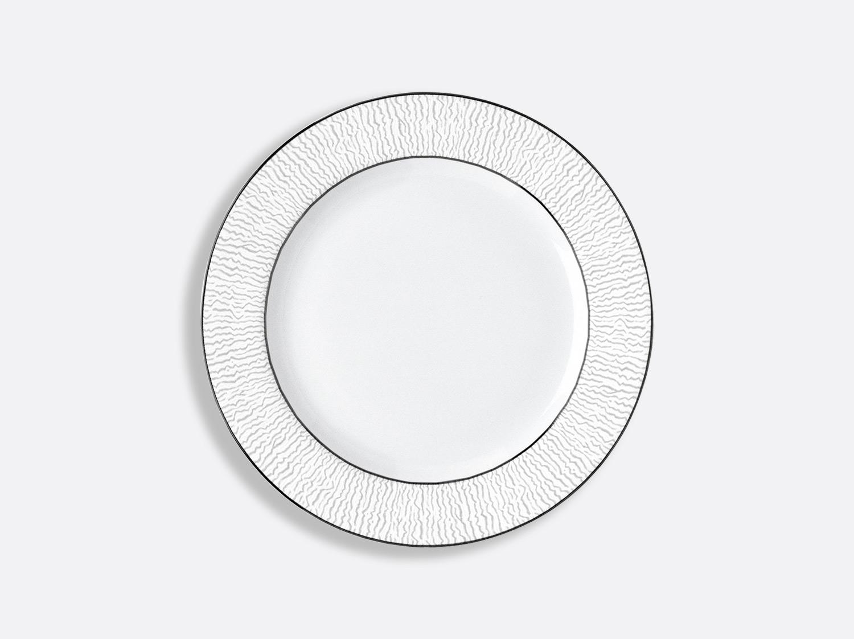 Assiette à dessert 21 cm en porcelaine de la collection Dune Bernardaud