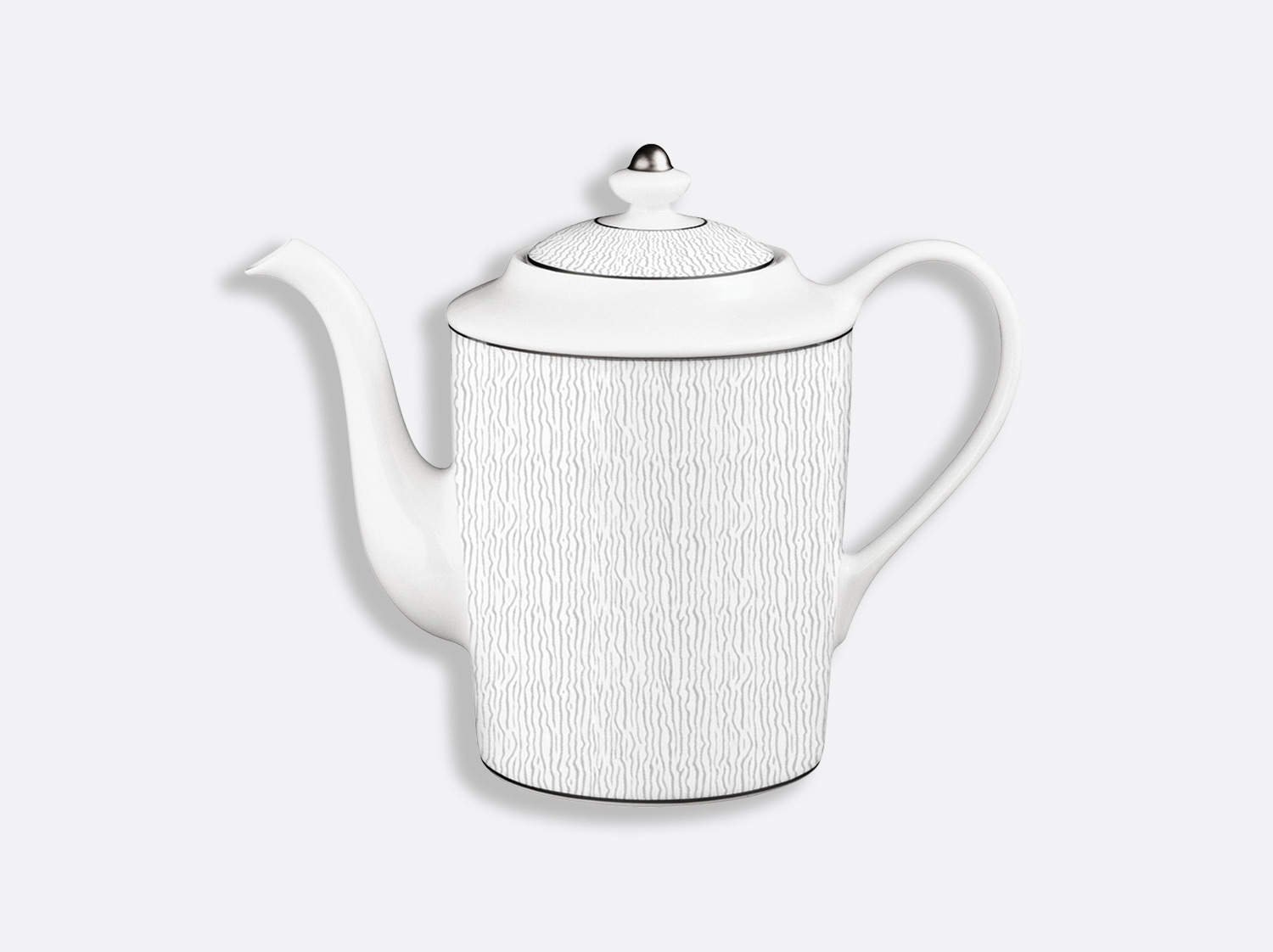 Cafetière 12 tasses 1 L en porcelaine de la collection Dune Bernardaud
