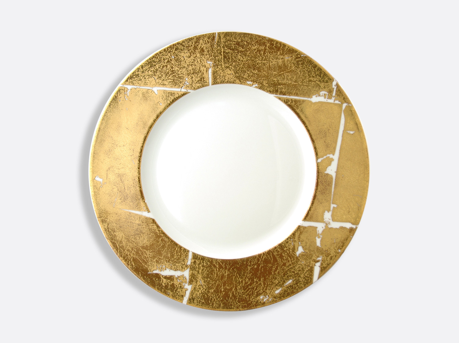 China Shogun plate 31.5 cm of the collection Gold leaf | Bernardaud