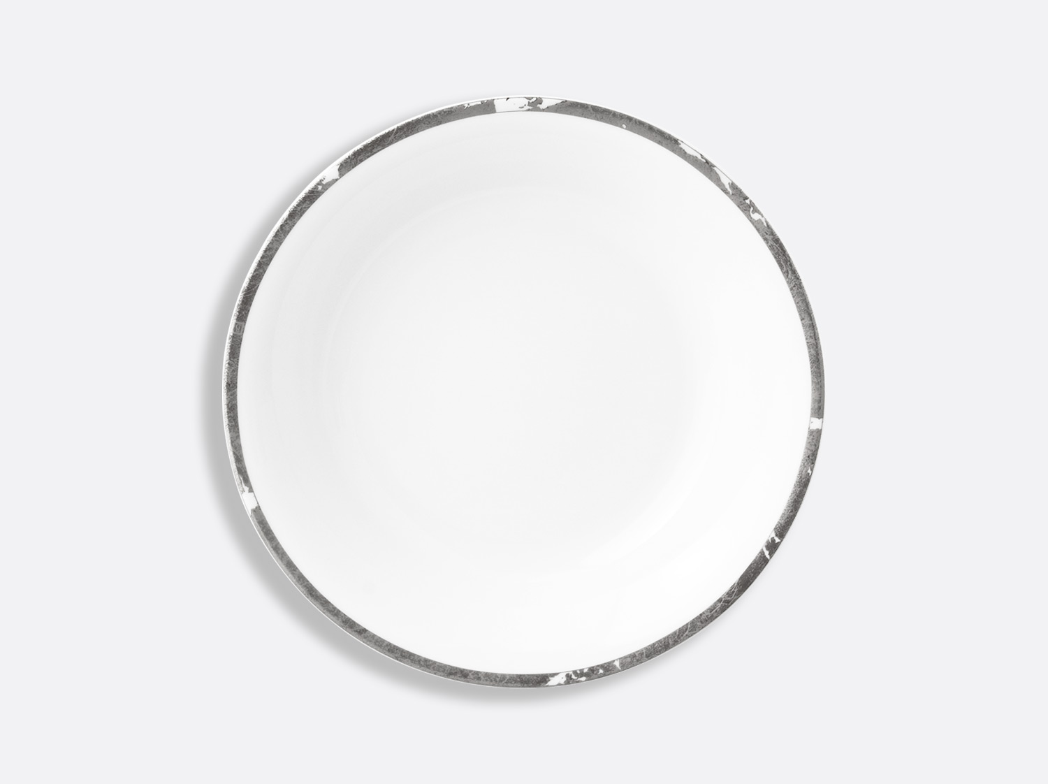 China Open vegetable bowl 80 cl of the collection Silver leaf | Bernardaud