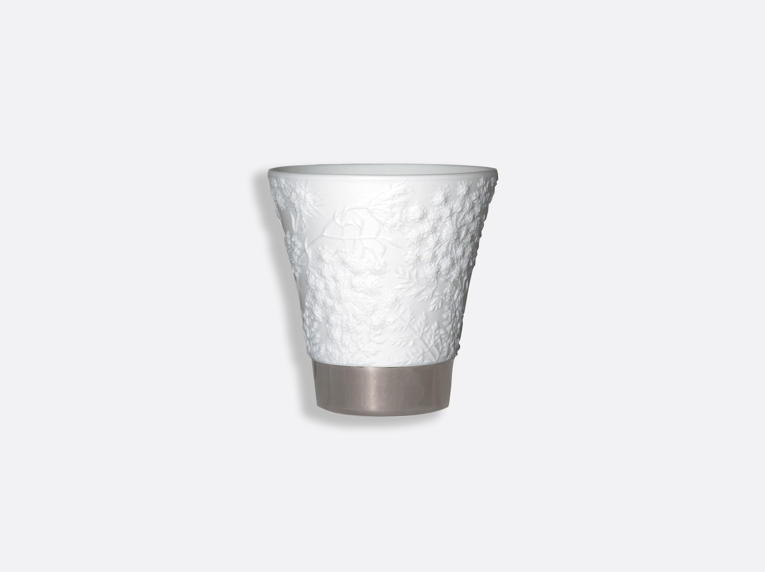 China Queen anne's lace - silver of the collection Votive tumblers | Bernardaud