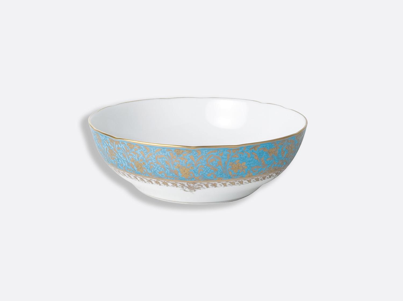 Compotier creux 24,5 cm 80 cl en porcelaine de la collection Eden turquoise Bernardaud