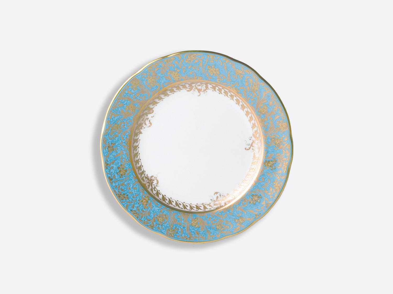 Assiette à pain 16 cm en porcelaine de la collection Eden turquoise Bernardaud