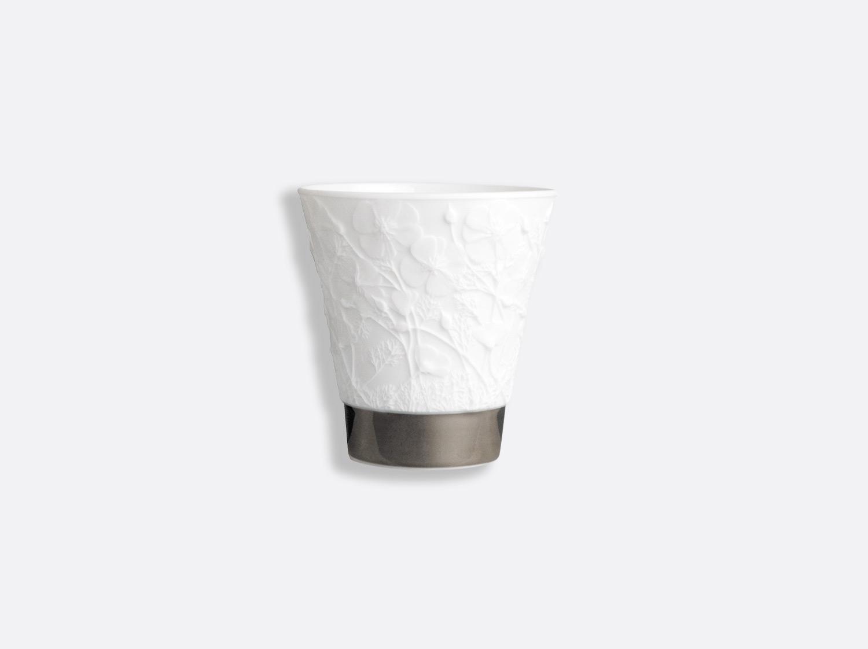 Pavots argent en porcelaine de la collection Timbales lithophaniques Bernardaud
