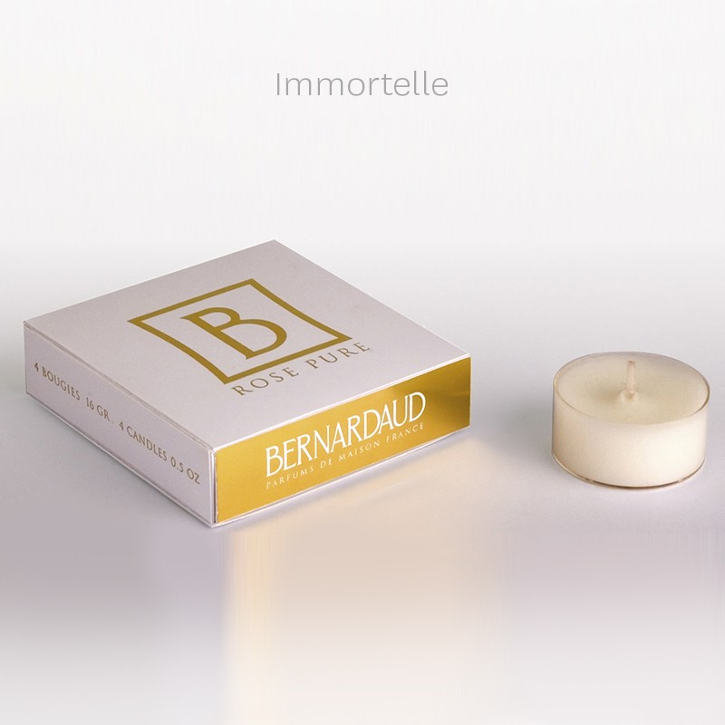 China Refill for votivelights - 16 gr  - box of 4 immortal of the collection Home fragrances | Bernardaud