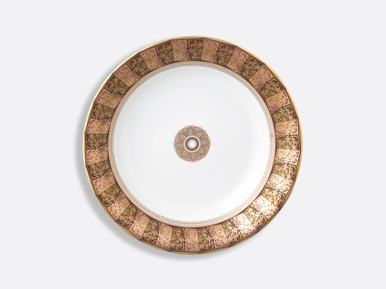 Assiette creuse à aile 22,5 cm en porcelaine de la collection Eventail Bernardaud