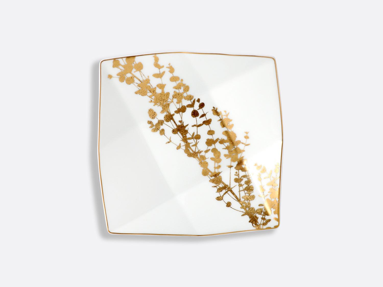 Coupe Cavanna n°3 17 x 17 cm en porcelaine de la collection Vegetal or Bernardaud