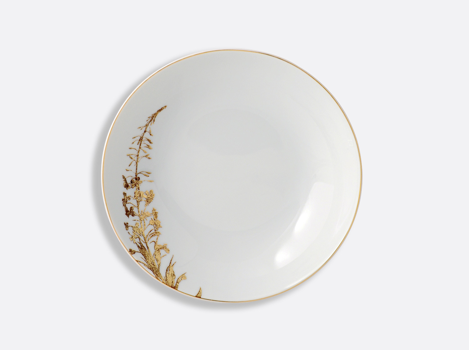 China coupe soup 19 cm of the collection Vegetal gold | Bernardaud