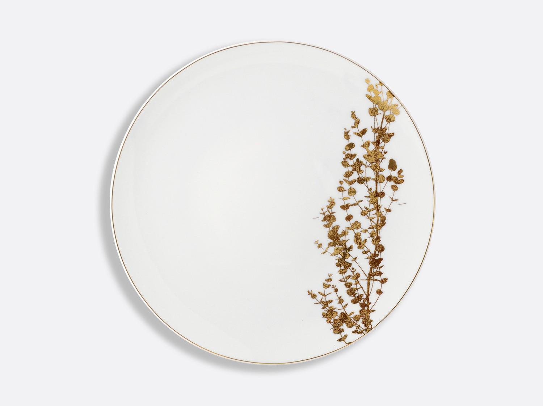 China Dinner plate 26 cm of the collection Vegetal gold | Bernardaud