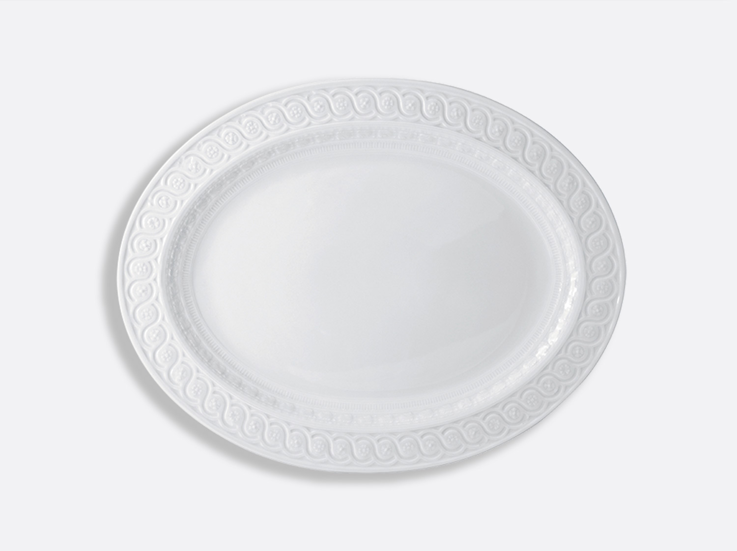 China Oval platter 48 cm of the collection Louvre | Bernardaud