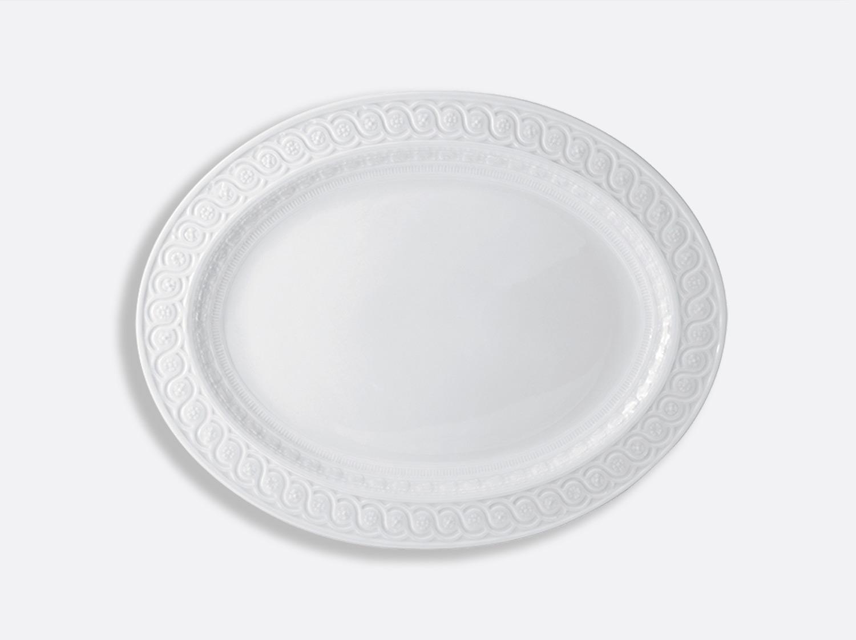 Plat ovale 48 cm en porcelaine de la collection Louvre Bernardaud