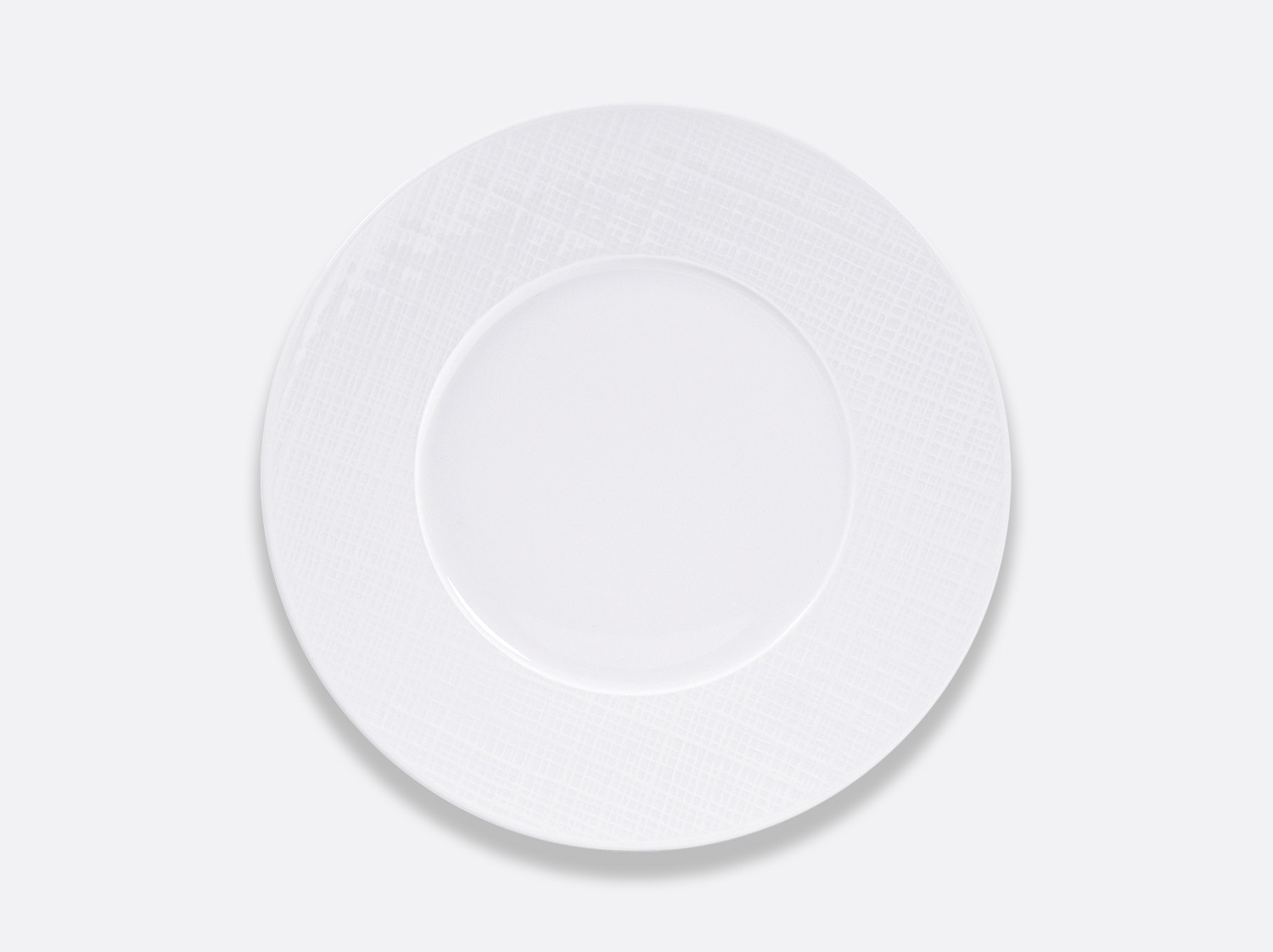 China Plate 26 cm of the collection Organza | Bernardaud