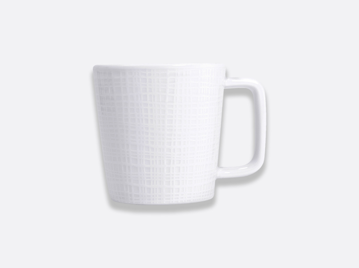 Mug 25 cl en porcelaine de la collection Organza Bernardaud