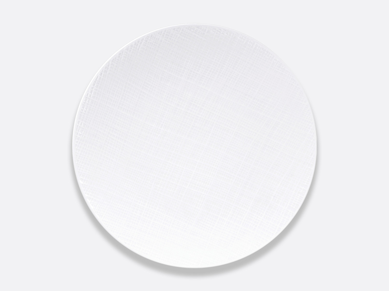 China Coupe plate 26 cm of the collection Organza | Bernardaud