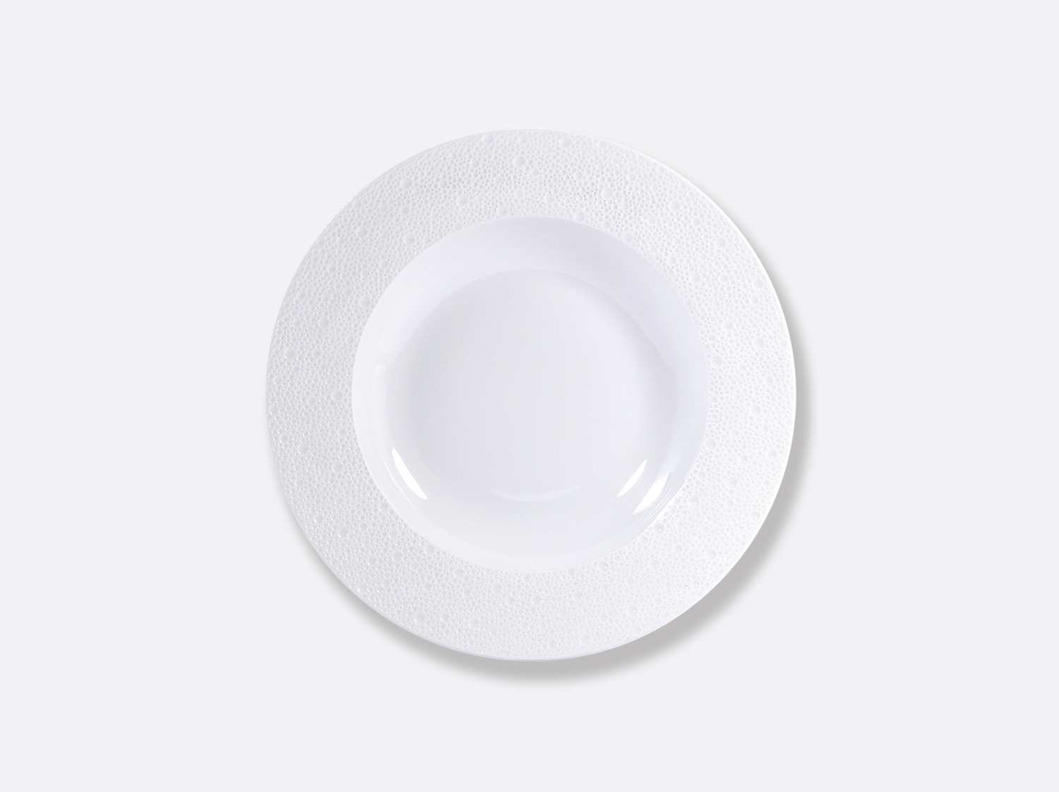 China リムスーププレート 23cm  of the collection Ecume | Bernardaud