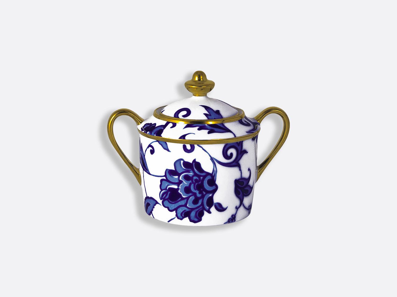 Sucrier 6 tasses 20 cl en porcelaine de la collection Prince bleu Bernardaud