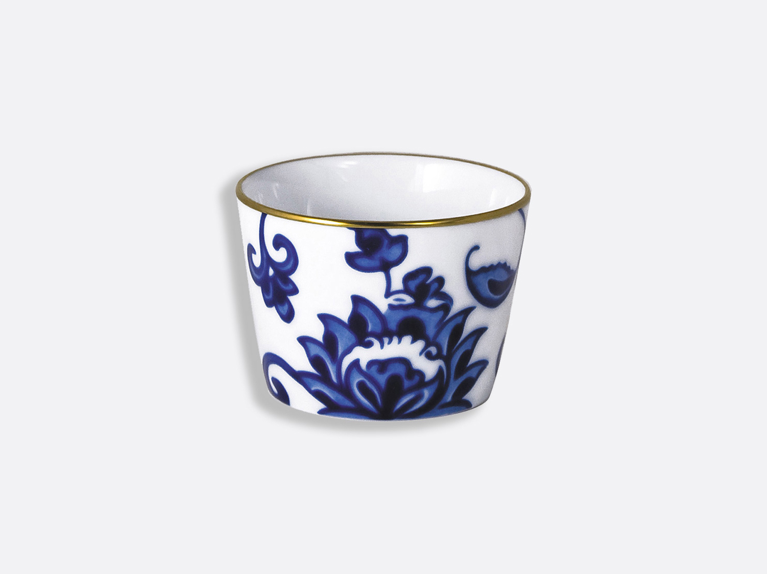 Timbale 14 cl 8 cm en porcelaine de la collection Prince bleu Bernardaud
