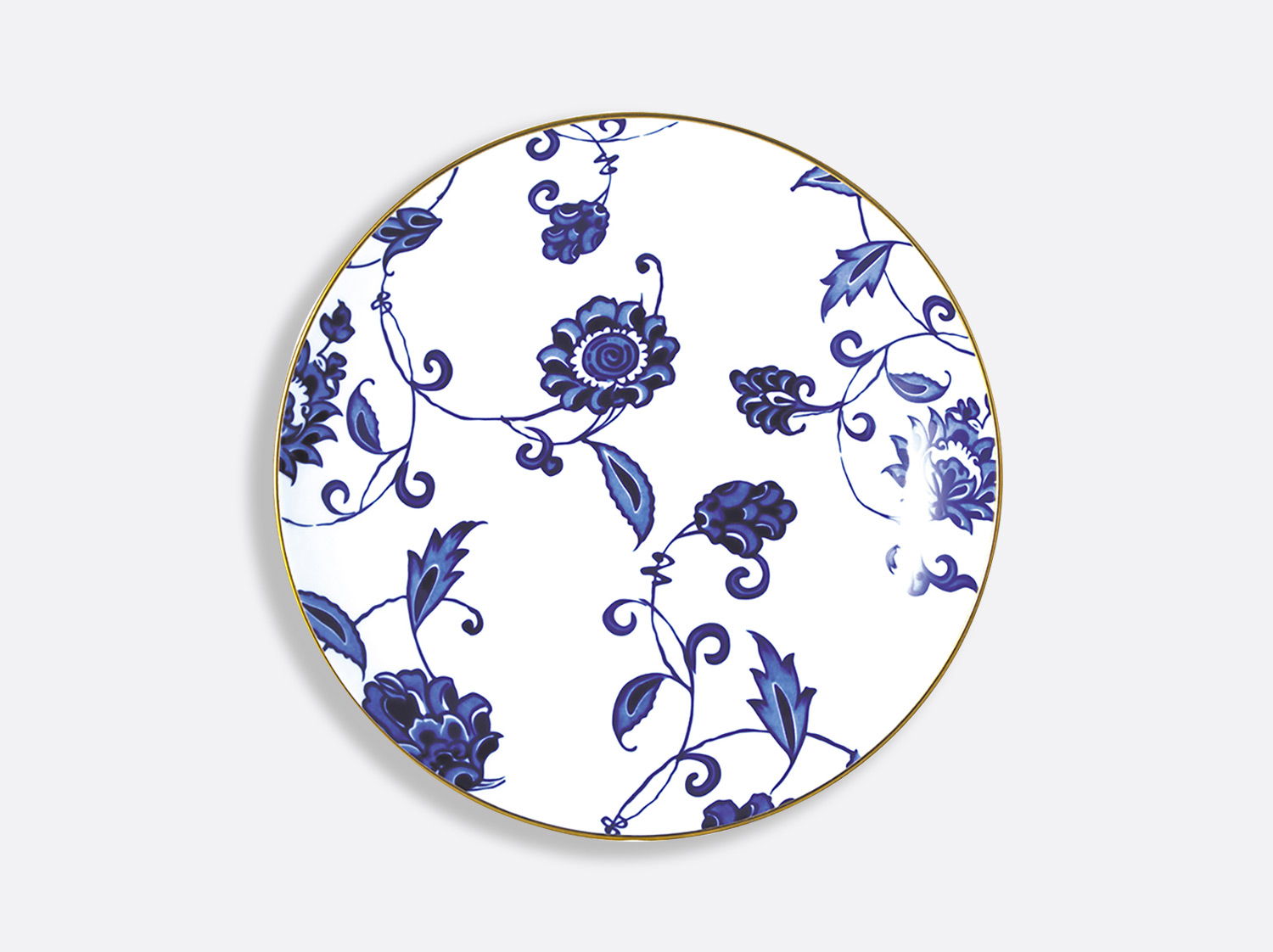 China Deep round dish 29 cm of the collection Prince bleu | Bernardaud