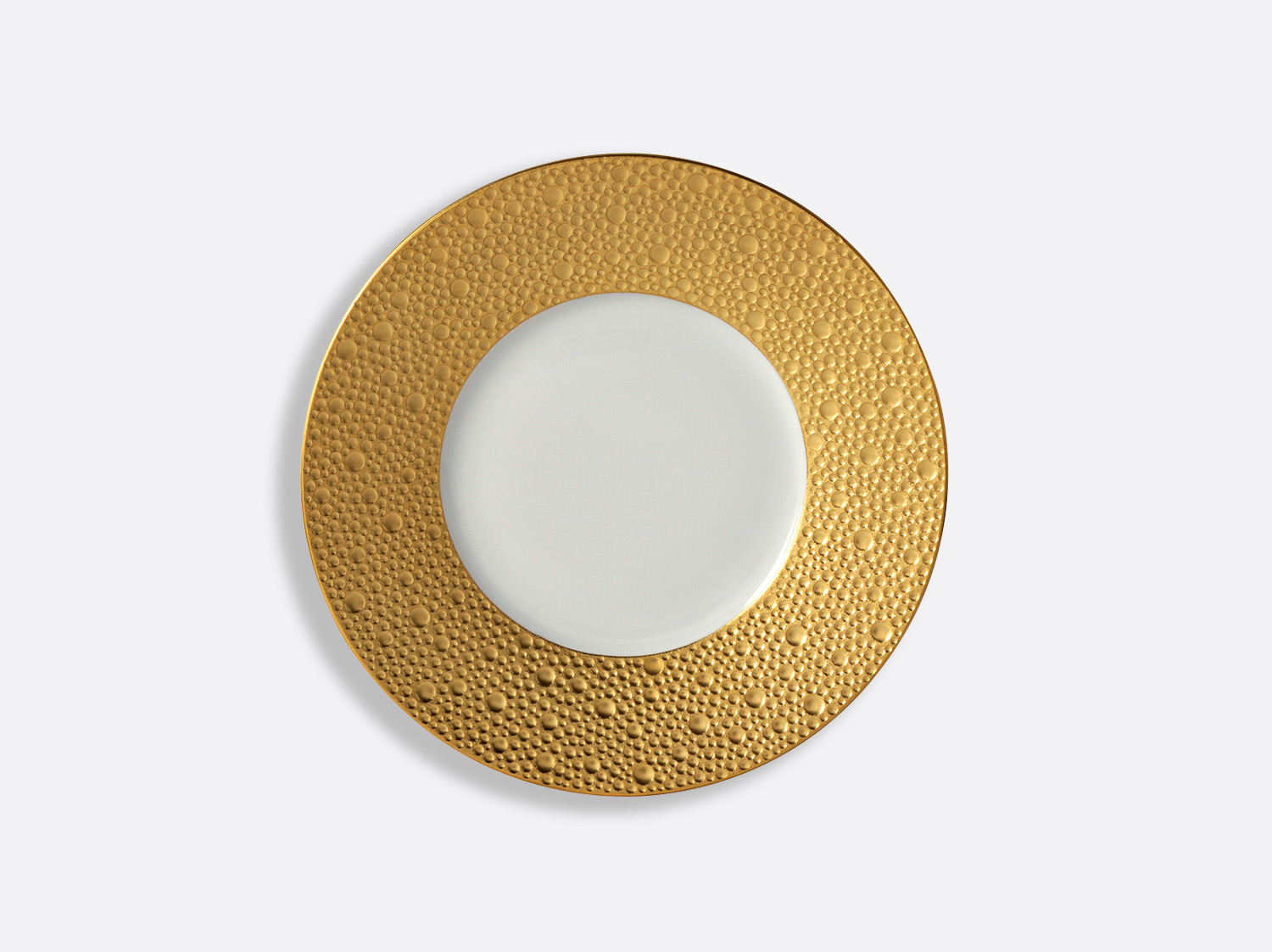China Plate 16 cm of the collection Ecume gold | Bernardaud