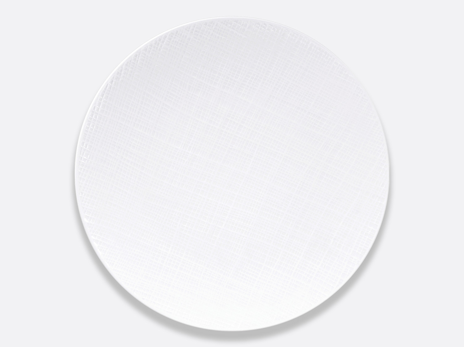 China Coupe plate 29.5 cm of the collection Organza | Bernardaud