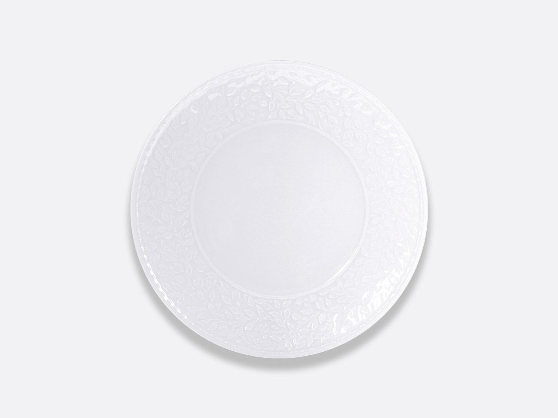Assiette coupe à dessert 21 cm en porcelaine de la collection Louvre Bernardaud
