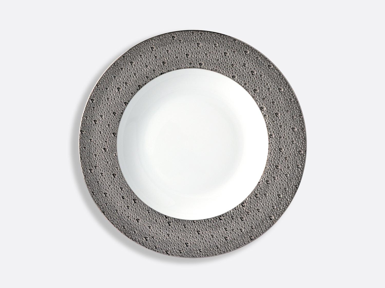 China Rim soup 23 cm of the collection Ecume platinum | Bernardaud
