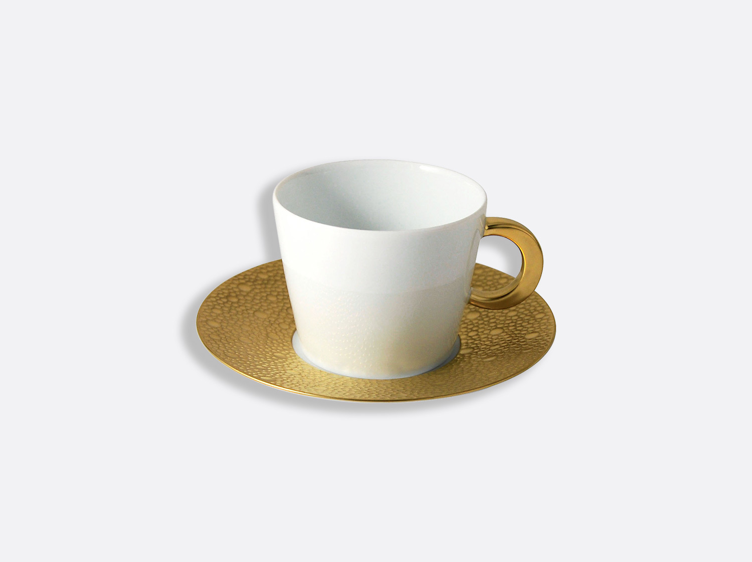 China カップ&ソーサ― 170ml of the collection Ecume or | Bernardaud