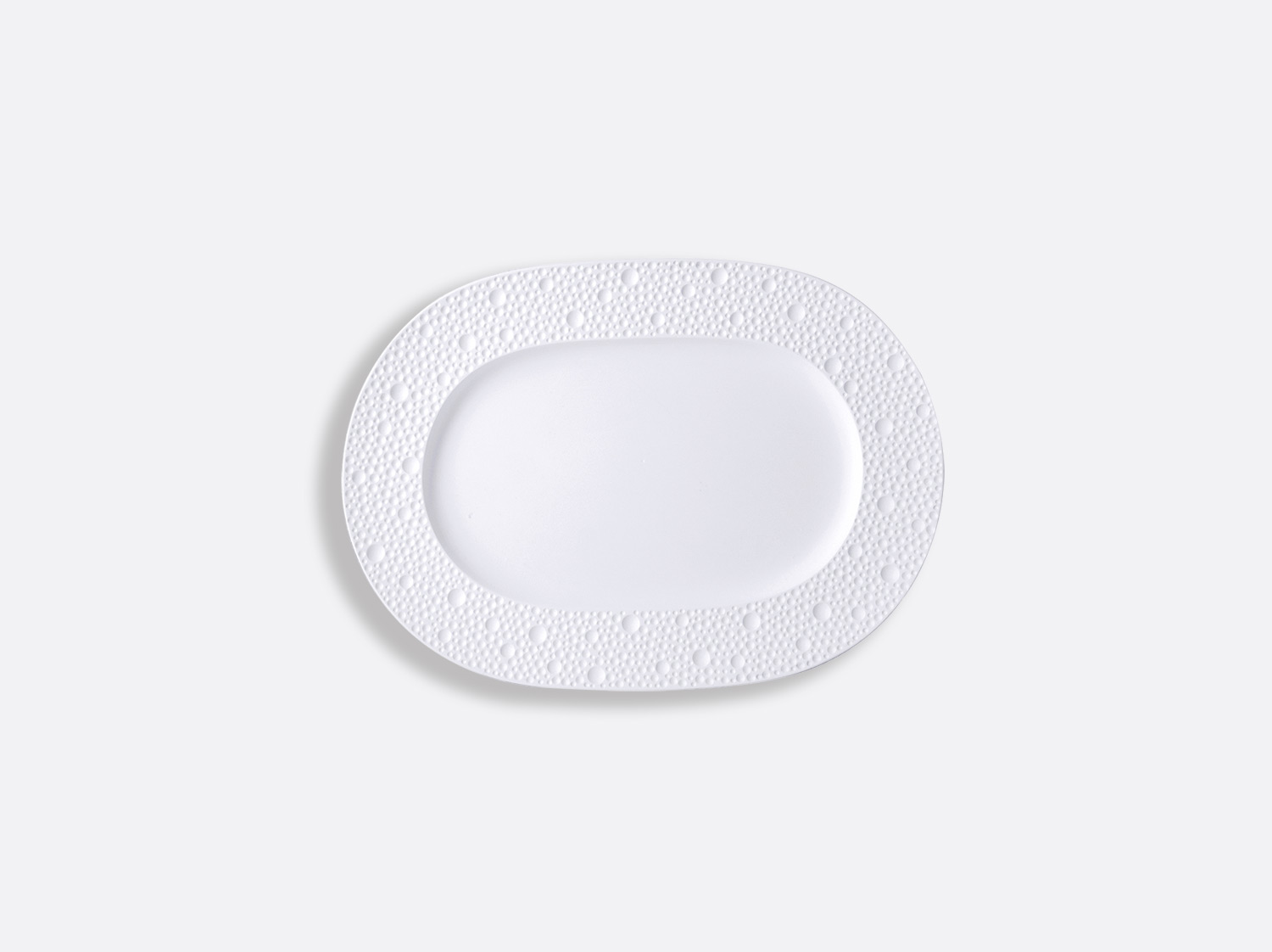 China Relish dish 21 x 15 cm of the collection Ecume | Bernardaud