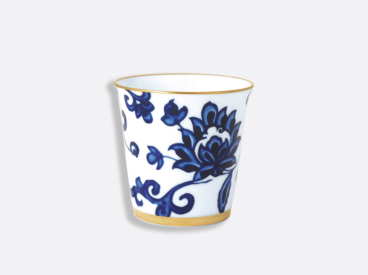 Pot 9 cm + bougie parfumée 200g en porcelaine de la collection Prince bleu - pot Bernardaud