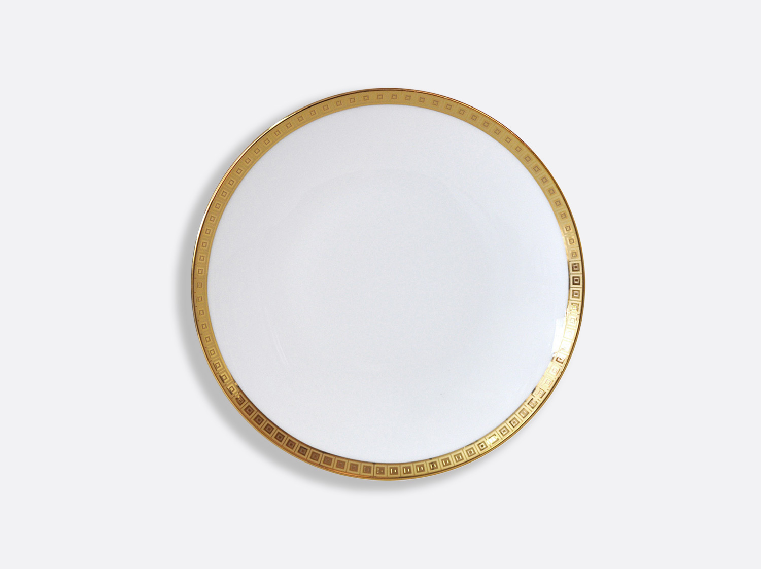 China Coupe Bread and butter plate 16 cm of the collection Athéna gold | Bernardaud