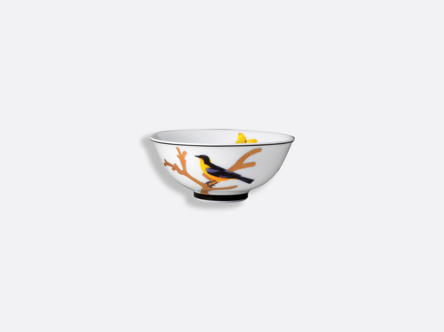 China Soup bowl 11 cm of the collection Aux oiseaux | Bernardaud