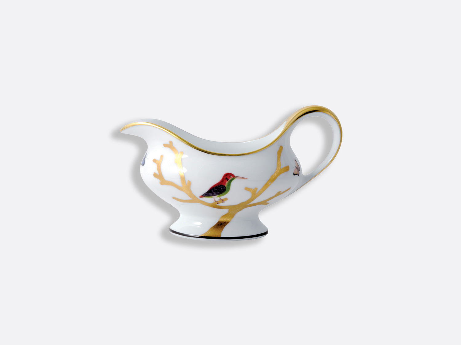 China Gravy boat of the collection Aux oiseaux | Bernardaud