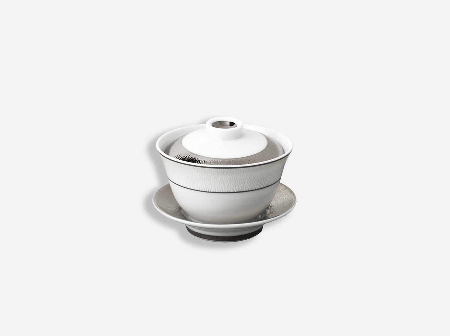 China Small covered cup of the collection Dune | Bernardaud