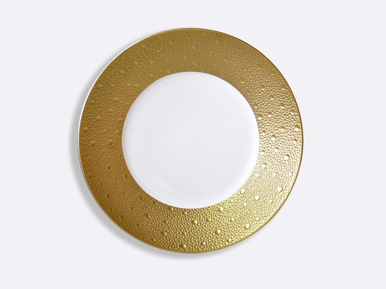 Compotier creux 24,5 cm 80 cl en porcelaine de la collection Ecume or Bernardaud
