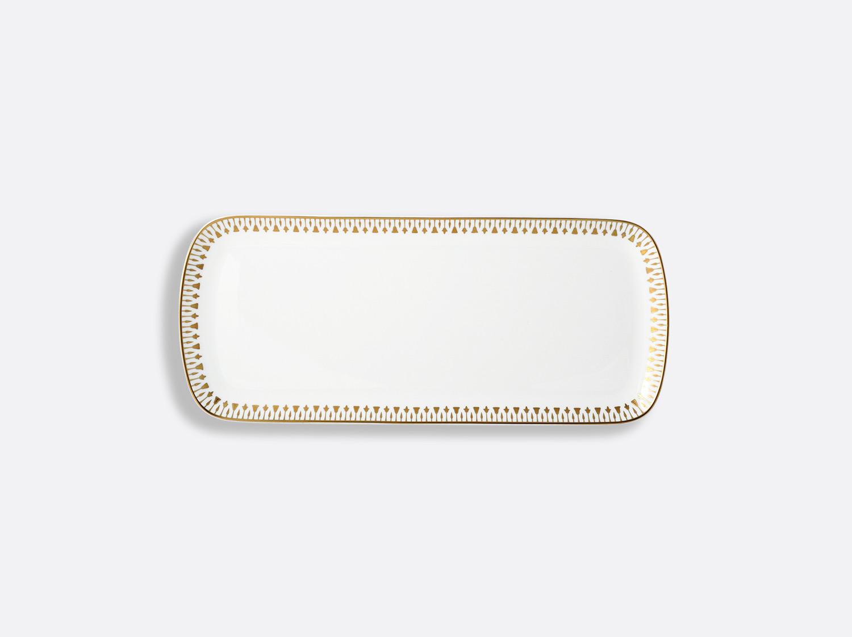 China Cake platter rectangular -37 cm of the collection Soleil levant | Bernardaud