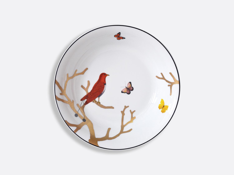 Compotier creux 24,5 cm 80 cl en porcelaine de la collection Aux oiseaux Bernardaud