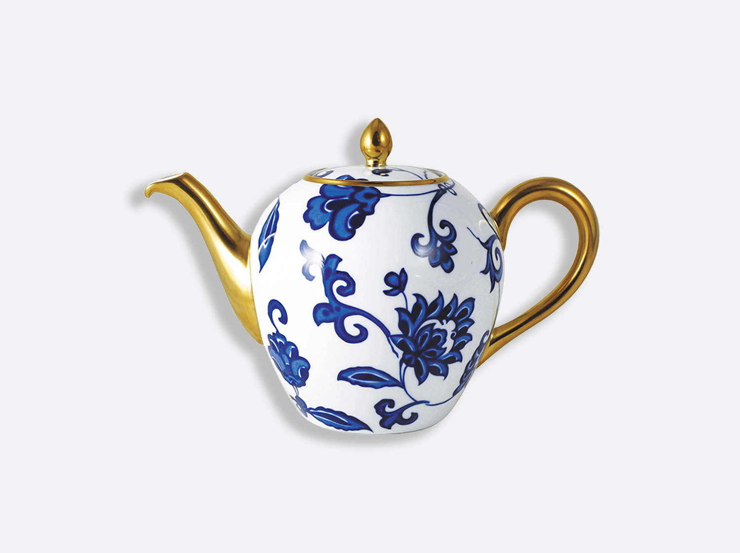 China Tea pot 12 cups 75 cl of the collection Prince bleu | Bernardaud